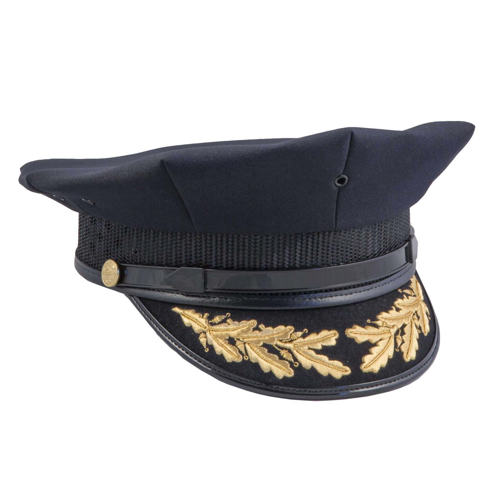 8 Point Police Cap Style No. 08NM8B0  f39e36706ce1